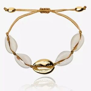 Restocked🐚1pc Boho Adjustable Cowrie Bracelet